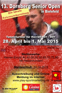 Dornberg Senior Open 2015