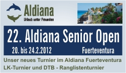 Aldiana Senior Open,                                                                                                 Fuerteventura 2012