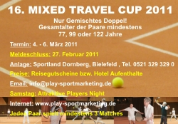 MIXED TRAVEL CUP 2011