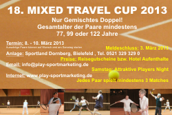 Mixed Travel Cup 2013