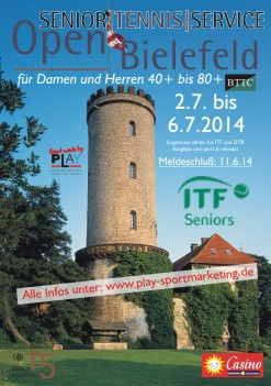 an ITF Seniors event made by PLAY